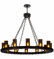 Meyda Tiffany 163777 Loxley Black Chandelier Light