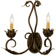 Meyda Tiffany 168161 Felicia Country Lamp Sconce