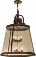 Meyda Tiffany 172344 Steadman Coffee Bean Pendant Lighting