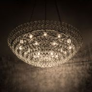 Meyda Tiffany 174096 Isabella Contemporary Pewter Lighting Pendant