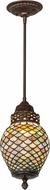 Meyda Tiffany 175709 Fishscale Tiffany Mini Hanging Light