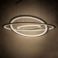 Meyda Tiffany 179169 Anillo Contemporary Bronze LED Pendant Lighting Fixture