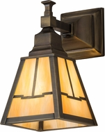 Meyda Tiffany 181231 Valley View Mission Antique Brass Outdoor Wall Sconce