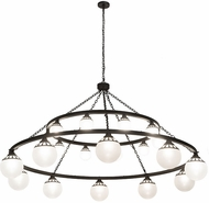 Meyda Tiffany 182292 Bola Tavern Old Wrought Iron Chandelier Lighting
