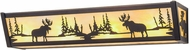 Meyda Tiffany 184292 Moose at Lake Mahogany Bronze Bathroom Lighting Fixture