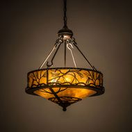Meyda Tiffany 184804 Branches Country Antique Copper Drop Ceiling Light Fixture