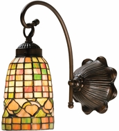 Meyda Tiffany 18650 Tiffany Acorn Tiffany Antique Wall Mounted Lamp