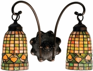 Meyda Tiffany 18651 Tiffany Acorn Tiffany Antique Wall Light Sconce
