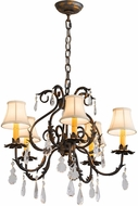 Meyda Tiffany 187283 Chantilly French Bronze Chandelier Light