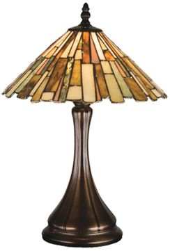 Meyda Tiffany 18868 Delta Tiffany Table Lamp Lighting