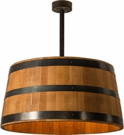 Meyda Tiffany 188971 Whiskey Barrel Country Drum Pendant Light Fixture