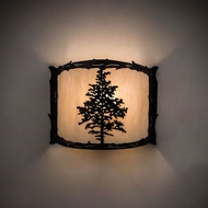 Meyda Tiffany 190071 Tamarack Country Antique Copper Lighting Wall Sconce