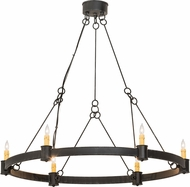 Meyda Tiffany 190565 Kenosha Bronze Chandelier Light