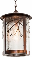 Meyda Tiffany 193544 Fulton Branches Rustic Vintage Copper Entryway Light Fixture