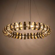 Meyda Tiffany 193561 Bracciali Contemporary Chrome Halogen Drop Ceiling Lighting
