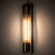 Meyda Tiffany 194036 Cilindro Modern Champagne Metallic Wall Light Sconce