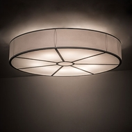 Meyda Tiffany 194230 Cilindro Nickel Fluorescent Home Ceiling Lighting