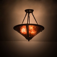 Meyda Tiffany 194681 Sutter Oil Rubbed Bronze Pendant Light Fixture