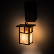 Meyda Tiffany 194872 Hyde Park Mission Craftsman Brown Wall Lighting