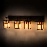 Meyda Tiffany 194873 Hyde Park Craftsman Craftsman Brown 4-Light Bath Lighting