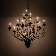 Meyda Tiffany 194929 Sycamore Traditional Timeless Bronze Chandelier Light
