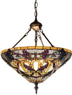 Meyda Tiffany 19512 Jeweled Grape Tiffany Pendant Light