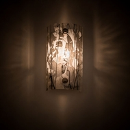 Meyda Tiffany 195462 Metro Fusion Contemporary Nickel Lighting Sconce