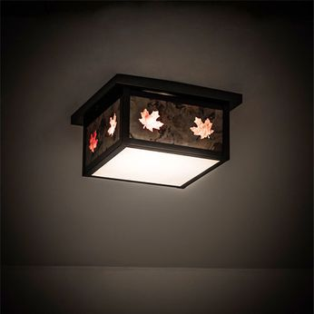 Meyda Tiffany 197073 Hyde Park Country Craftsman Brown Home Ceiling Lighting