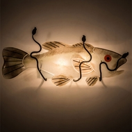 Meyda Tiffany 197319 Metro Fusion Wrought Iron Wall Lamp