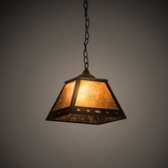 Meyda Tiffany 197507 Diamond Textured Black Drop Lighting Fixture