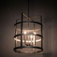 Meyda Tiffany 197839 Aldari Contemporary Antique Iron Ore Foyer Lighting