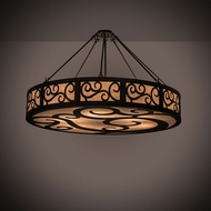 Meyda Tiffany 198526 Dean Oil Rubbed Bronze Ceiling Light Fixture