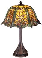 Meyda Tiffany 19876 Duffner & Kimberly Shell & Diamond Tiffany Table Light