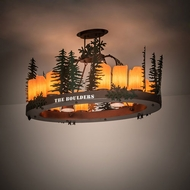 Meyda Tiffany 199566 Tall Pines Country Copper Vein Home Ceiling Lighting