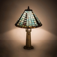 Meyda Tiffany 199670 Lighthouse Tiffany Table Lighting