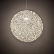 Meyda Tiffany 199811 Yarn Ball Contemporary Chrome 20  Ceiling Pendant Light