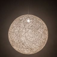Meyda Tiffany 199812 Yarn Ball Modern Chrome 32  Drop Ceiling Light Fixture