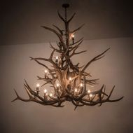 Meyda Tiffany 200433 Wide Antlers Country 72 Ceiling Chandelier