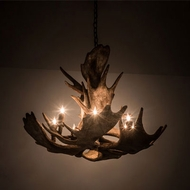 Meyda Tiffany 200438 Antlers Country Antique Copper 33 Lighting Chandelier