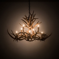 Meyda Tiffany 200456 Antlers Country Antique Copper 39 Chandelier Lighting