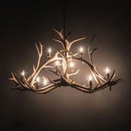 Meyda Tiffany 200467 Antlers Country Antique Copper 66.5 Lighting Chandelier