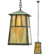 Meyda Tiffany 20111 Stillwater Double Bar Mission Craftsman 61.25  Tall Exterior Mini Ceiling Light Pendant