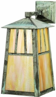 Meyda Tiffany 20113 Stillwater Double Bar Mission Craftsman 17.5  Tall Exterior Wall Light Sconce