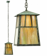 Meyda Tiffany 20114 Stillwater Double Bar Mission Craftsman 9.75  Wide Exterior Mini Ceiling Pendant Light
