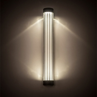 Meyda Tiffany 202199 Cilindro Oil Rubbed Bronze LED Wall Sconce Lighting