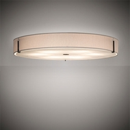 Meyda Tiffany 203384 Cilindro Smoke LED Flush Mount Lighting Fixture