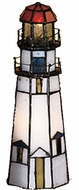 Meyda Tiffany 20536 Marble Head Light House Accent Lamp