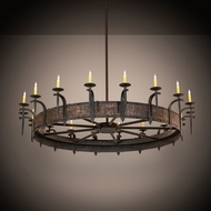 Meyda Tiffany 211291 Costello Country Copper Ceiling Chandelier