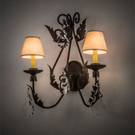 Meyda Tiffany 211476 French Elegance Wall Lighting Sconce