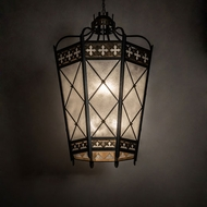 Meyda Tiffany 211859 Citadel Traditional Rich Umber Patina And Antique Distressed Gold Foyer Lighting